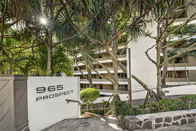 965 Prospect Street #606, Honolulu, HI 96822 (MLS #202100096) :: Keller Williams Honolulu