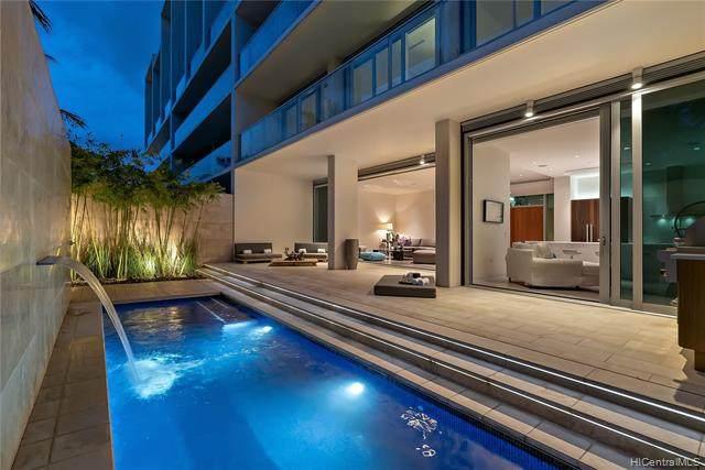 1118 Ala Moana Boulevard Villa 3, Honolulu, HI 96814 (MLS #202100567) :: Team Lally