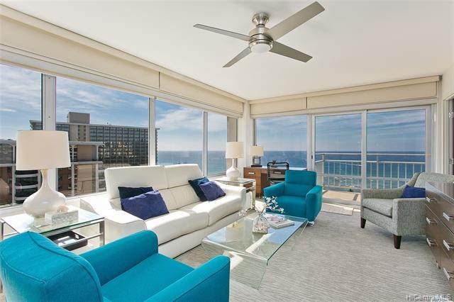 1777 Ala Moana Boulevard #2444, Honolulu, HI 96815 (MLS #202100649) :: Team Lally