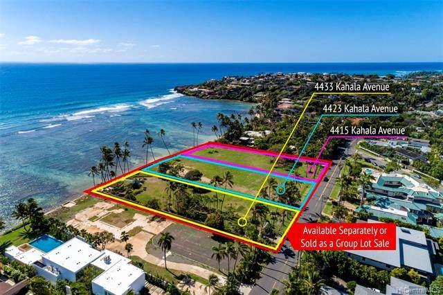 4415 Kahala Avenue, Honolulu, HI 96816 (MLS #202100655) :: Barnes Hawaii