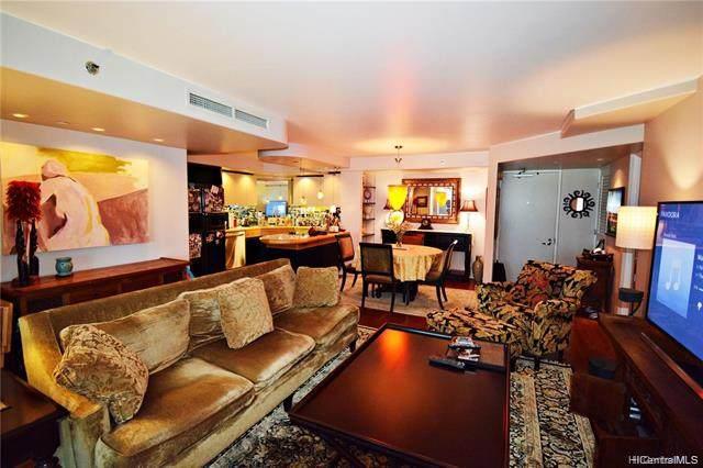 66 Queen Street #3404, Honolulu, HI 96813 (MLS #202100670) :: Island Life Homes