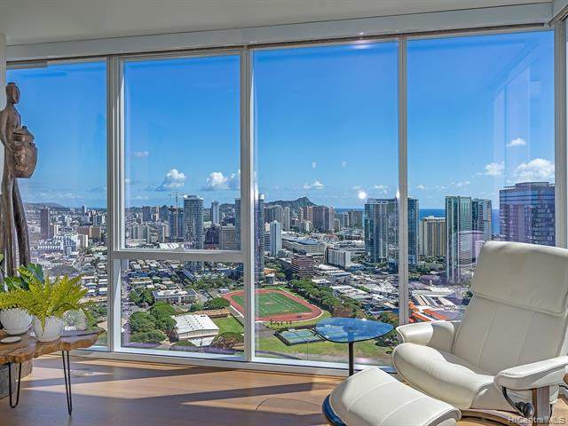888 Kapiolani Boulevard #4203, Honolulu, HI 96813 (MLS #202100722) :: Keller Williams Honolulu
