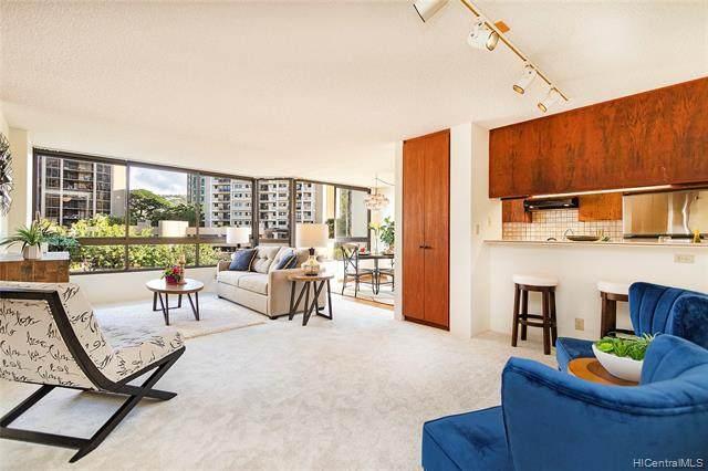 55 S Judd Street #810, Honolulu, HI 96817 (MLS #202100760) :: Keller Williams Honolulu