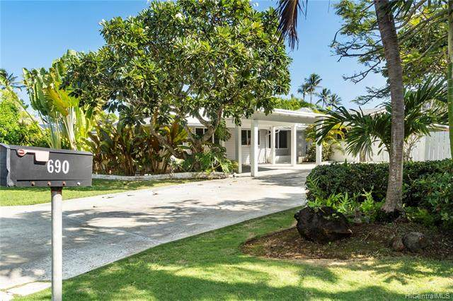 690 Old Mokapu Road, Kailua, HI 96734 (MLS #202100939) :: Barnes Hawaii