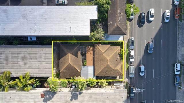 711 Piikoi Street, Honolulu, HI 96814 (MLS #202100944) :: Team Lally