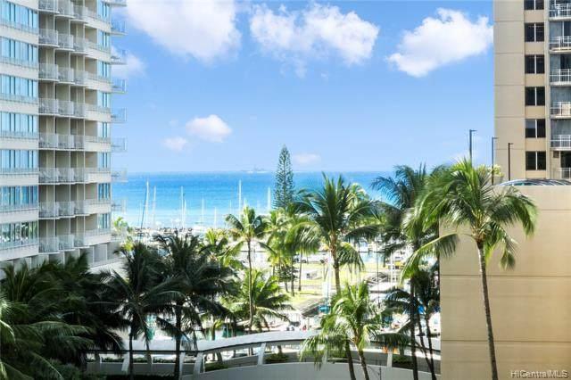1720 Ala Moana Boulevard B 807, Honolulu, HI 96815 (MLS #202100946) :: Barnes Hawaii