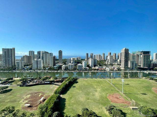 2333 Kapiolani Boulevard #2715, Honolulu, HI 96826 (MLS #202101046) :: Team Lally