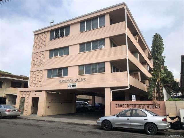 1326 Matlock Avenue, Honolulu, HI 96814 (MLS #202101063) :: Keller Williams Honolulu