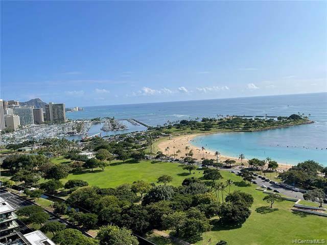 1350 Ala Moana Boulevard #2804, Honolulu, HI 96814 (MLS #202101170) :: Corcoran Pacific Properties