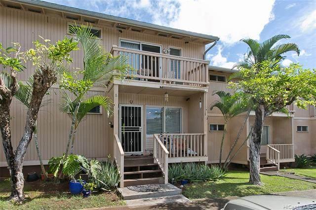 98-875B Kaonohi Street #63, Aiea, HI 96701 (MLS #202101261) :: Barnes Hawaii