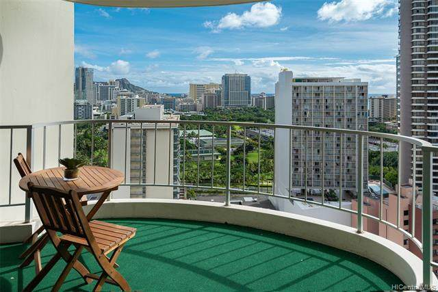 469 Ena Road #2308, Honolulu, HI 96815 (MLS #202101384) :: Island Life Homes