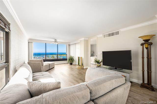 1650 Ala Moana Boulevard #1613, Honolulu, HI 96815 (MLS #202101391) :: Team Lally