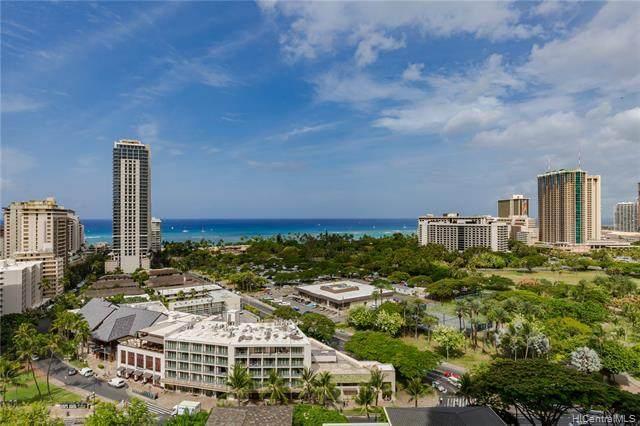 383 Kalaimoku Street E1816 (Tower 1), Honolulu, HI 96815 (MLS #202101598) :: Barnes Hawaii