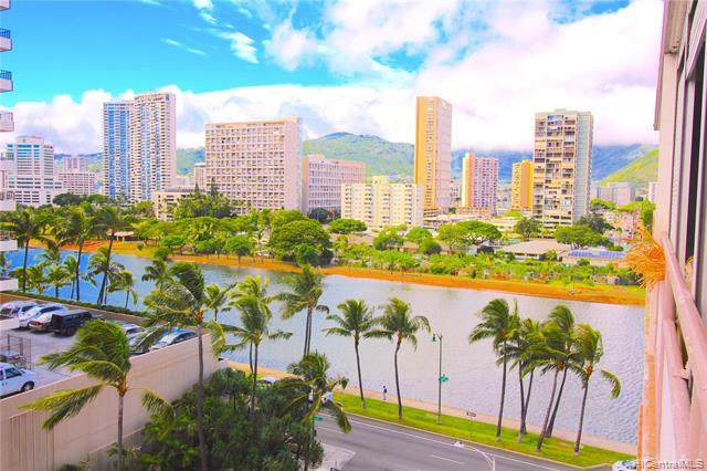 445 Kaiolu Street #909, Honolulu, HI 96815 (MLS #202101610) :: Barnes Hawaii