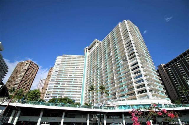 1777 Ala Moana Boulevard #1707, Honolulu, HI 96815 (MLS #202101620) :: Barnes Hawaii