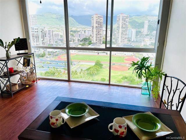 2211 Ala Wai Boulevard #2605, Honolulu, HI 96815 (MLS #202101651) :: Barnes Hawaii