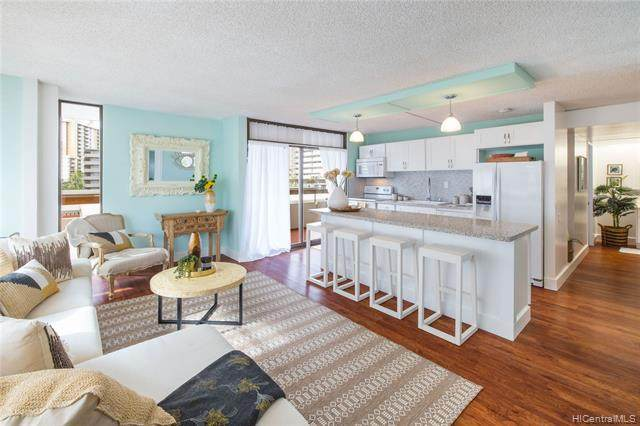 2029 Ala Wai Boulevard #404, Honolulu, HI 96815 (MLS #202101679) :: Barnes Hawaii