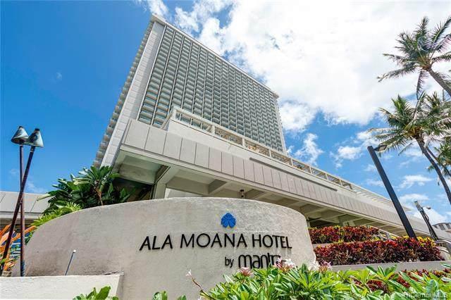 410 Atkinson Drive #1314, Honolulu, HI 96814 (MLS #202101774) :: Team Lally