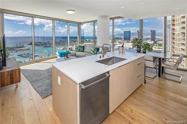 1001 Queen Street #2301, Honolulu, HI 96814 (MLS #202101785) :: Island Life Homes