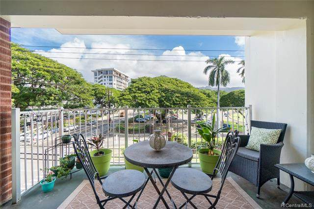 1535 Punahou Street #402, Honolulu, HI 96822 (MLS #202101911) :: Team Lally
