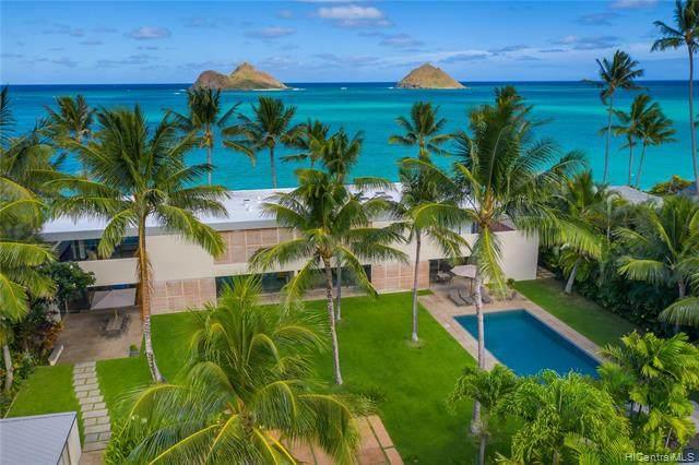 1240 Mokulua Drive, Kailua, HI 96734 (MLS #202102204) :: Corcoran Pacific Properties