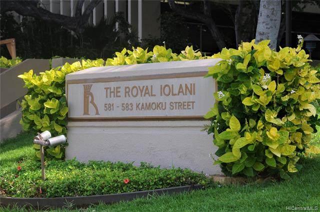 581 Kamoku Street #502, Honolulu, HI 96826 (MLS #202103435) :: Keller Williams Honolulu