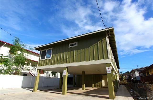 1525 Amelia Street A, Honolulu, HI 96819 (MLS #202103596) :: Keller Williams Honolulu