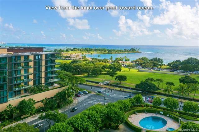 1350 Ala Moana Boulevard #1412, Honolulu, HI 96814 (MLS #202104459) :: Keller Williams Honolulu