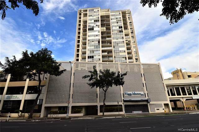 818 S King Street #602, Honolulu, HI 96813 (MLS #202104465) :: Team Lally