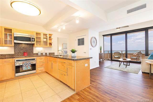 600 Queen Street #4104, Honolulu, HI 96813 (MLS #202104497) :: LUVA Real Estate