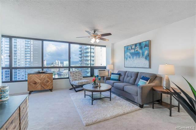 876 Curtis Street #3106, Honolulu, HI 96813 (MLS #202104499) :: LUVA Real Estate