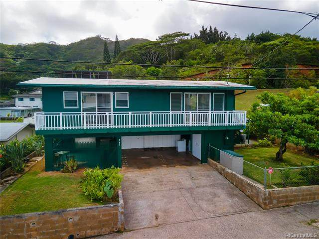 45-412 Ohaha Street, Kaneohe, HI 96744 (MLS #202104553) :: Team Lally