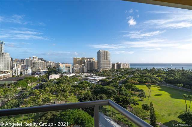 2045 Kalakaua Avenue #1609, Honolulu, HI 96815 (MLS #202104665) :: Team Lally