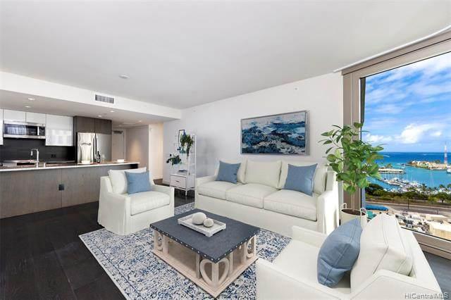 1001 Queen Street #1703, Honolulu, HI 96814 (MLS #202104670) :: LUVA Real Estate