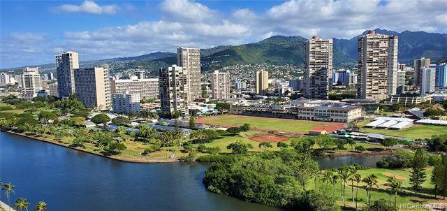 445 Seaside Avenue #2408, Honolulu, HI 96815 (MLS #202104807) :: Team Lally