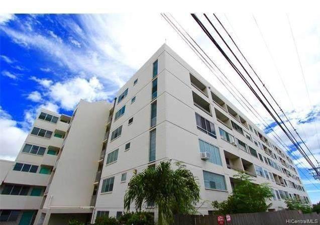1555 Pohaku Street B605, Honolulu, HI 96817 (MLS #202104923) :: Keller Williams Honolulu