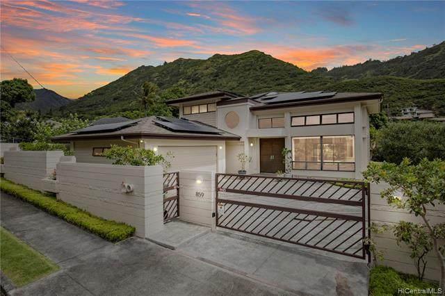 859 Hao Street, Honolulu, HI 96821 (MLS #202104985) :: Corcoran Pacific Properties
