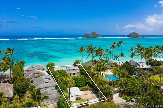 1218 Mokulua Drive, Kailua, HI 96734 (MLS #202106494) :: Corcoran Pacific Properties