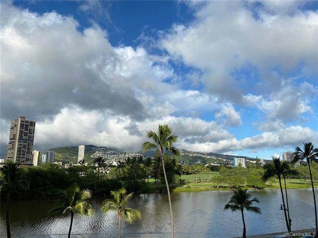 2233 Ala Wai Boulevard 4C, Honolulu, HI 96815 (MLS #202106963) :: Team Lally