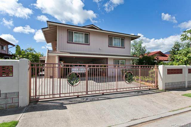 94-232 Moena Place, Waipahu, HI 96797 (MLS #202107057) :: Keller Williams Honolulu