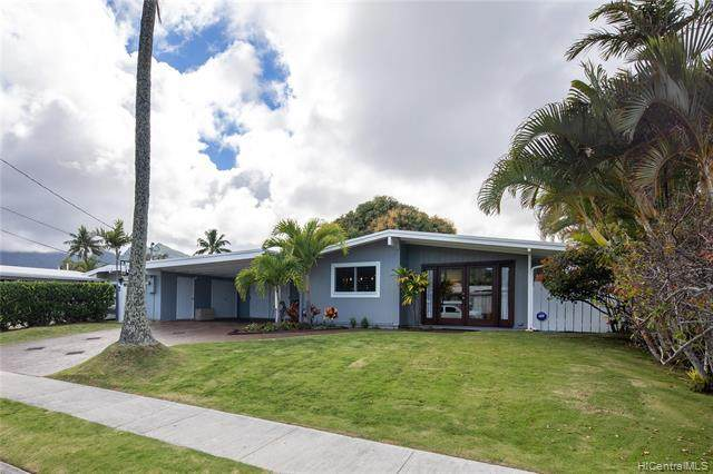 546 Palawiki Street, Kailua, HI 96734 (MLS #202107362) :: LUVA Real Estate