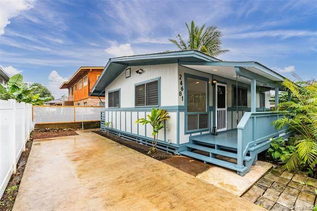 246 Olive Avenue B1, Wahiawa, HI 96786 (MLS #202107416) :: Keller Williams Honolulu