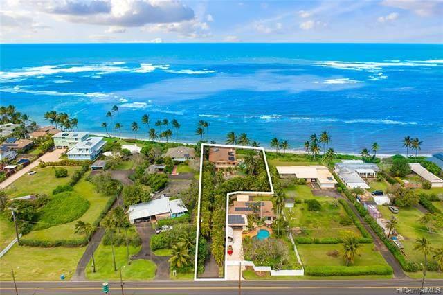 67-419 Waialua Beach Road, Waialua, HI 96791 (MLS #202107515) :: Corcoran Pacific Properties