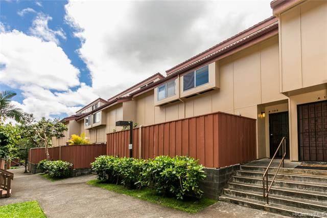 46-078 Emepela Place A105, Kaneohe, HI 96744 (MLS #202108248) :: Island Life Homes