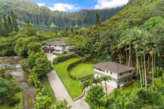 46-406 Holoanai Way, Kaneohe, HI 96744 (MLS #202108277) :: LUVA Real Estate