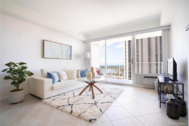 419 Atkinson Drive #1205, Honolulu, HI 96814 (MLS #202108302) :: LUVA Real Estate