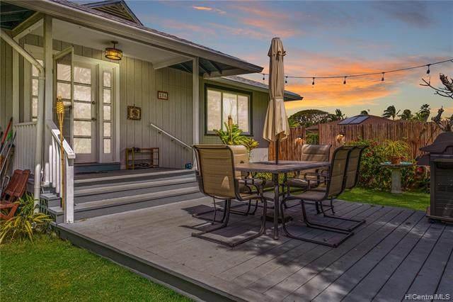 256 Aumoe Road, Kailua, HI 96734 (MLS #202108435) :: Corcoran Pacific Properties