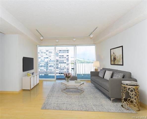 419 Atkinson Drive #1202, Honolulu, HI 96814 (MLS #202108458) :: LUVA Real Estate
