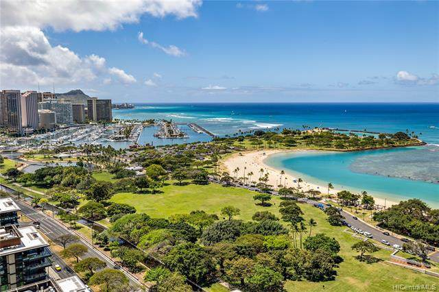 1350 Ala Moana Boulevard #3104, Honolulu, HI 96814 (MLS #202108508) :: Barnes Hawaii