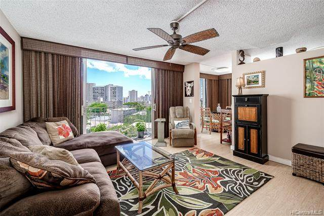 1634 Makiki Street #606, Honolulu, HI 96822 (MLS #202108515) :: Keller Williams Honolulu
